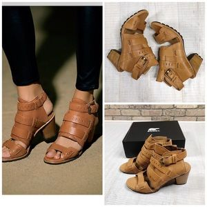 Sorel Nadia Buckle Sandal heel woman shoes